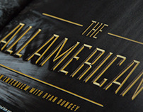"""The All American"" Editorial design"