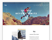 KING - WordPress Theme
