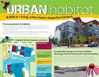"Out / In / Front ""Urban Habitat"" Poster 2013"