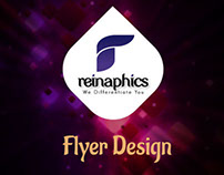 Flyer Design for Reinaphics