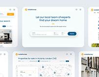 Rockethomes UI Design