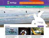Site da Prefeitura de Bertioga