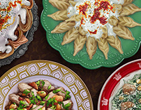 Regional Food Icons