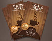 Discount Coffee Cheap Flyers | Modern Design