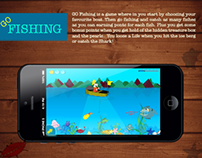 GO Fishing-iPhone Game App Free PSD