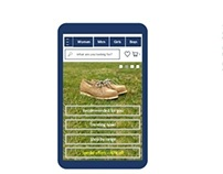 Ecommerce | Lifestyle Footwear - mobile app