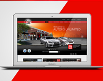 AutoFix Unlimited Website Design