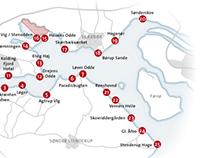 Maps for magazines / Fiske Feber (DK)