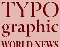 Typonine Stencil