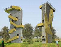 Uitkijktoren Goois Natuurreservaat 2006