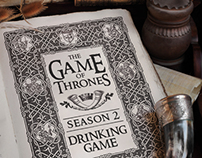 Game of thrones - drinking game
