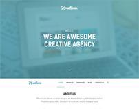 Kreativen - Responsive Creative Wordpress Theme