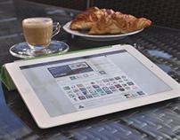 Outdoor iPad Tablet Mockup