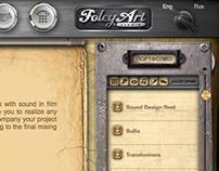 FoleyArt website