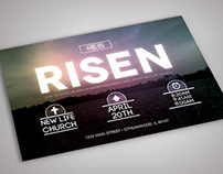 Easter Sunday Template Set (He is Risen)