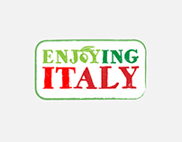 Enjoying Italy, Website and Logo Design