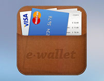 e-wallet iOS icon