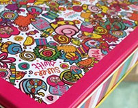 Diwali Mitthai: Tin Pattern Design for Chumbak