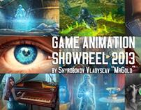 Game 2D-Animation Showreel 2013 by Vladyslav Shyrobokov