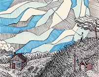 Good ol' Moleskine drawings series 1