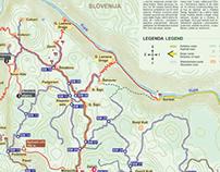 Bike and Hiking routes in Brod Moravice (Croatia)