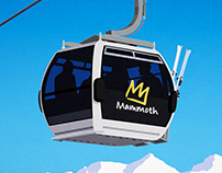 Mammoth Ski Resort Poster