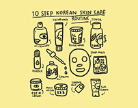 For Fun: 10 Steps Korean Skin Care Routine