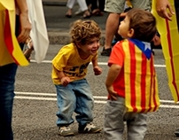 Independence Day. Catalunya.