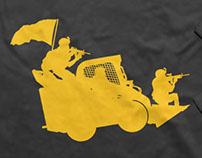 Battlefield T-shirt design contest | Skid Steer Attack