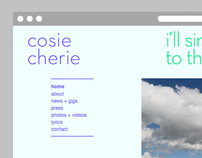 Cosie Cherie / Website