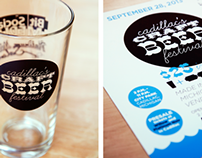 Cadillac's Craft Beer Festival Logo & Marketing
