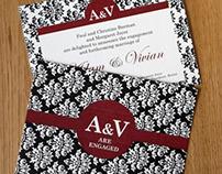 A&V Engagement Cards