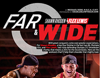 FLEX MAGAZINE JAN 2014 - FAR & WIDE FEATURE