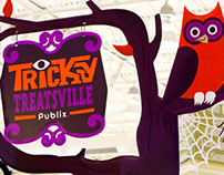 Publix Tricky Treatsville
