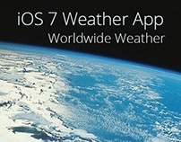 iOS7 Weather App