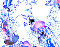 Blue Jelly- Fashion and Interior Print Project