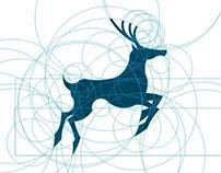 Deer Jumping - Logo