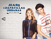 Jeans & Zapatillas Urbanas Igual es nunca más