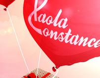 Paola Constance - O amor está no ar