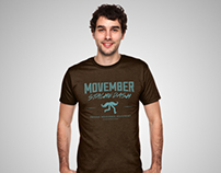 Fresno Movember Movement Stache Dash Campaign