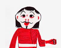 sketch - Hindú