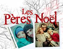 """Affiche Court-métrage """"Les Pères Noël"""""""