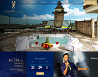 Mardan Palace Web Design