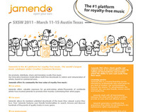 Jamendo - SXSW 2011