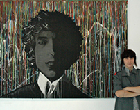 Bob Dylan in Drips by ZiD Visions '13