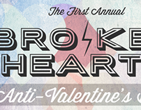 Broken Hearts Bash Invitation