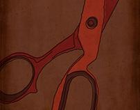 Posters of Lars von Trier's films.