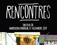 "Affiche film documentaire ""Rencontres"" Paris"