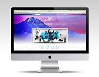 Ripcurl Winterfest '15 Website