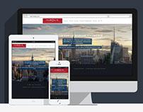 Hub4US - Responsive corporate website